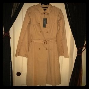 BCBG trench with cape